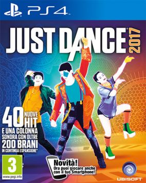 Copertina del gioco Just Dance 2017 per Playstation 4