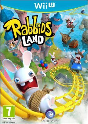 Copertina del gioco Rabbids Land per Nintendo Wii U