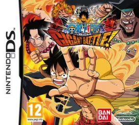 Copertina del gioco One Piece: Gigant Battle per Nintendo DS