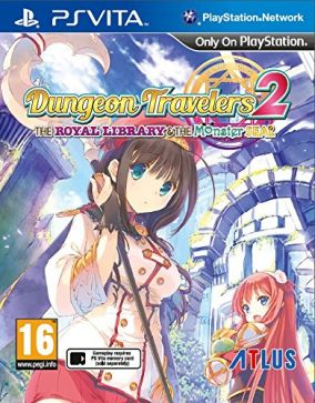 Copertina del gioco Dungeon Travelers 2: The Royal Library & the Monster Seal per PSVITA