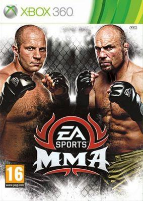 Copertina del gioco EA Sports MMA per Xbox 360