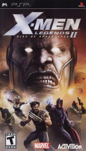 Copertina del gioco X-Men Legends II: Rise of Apocalypse per Playstation PSP