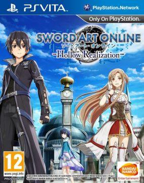 Immagine della copertina del gioco Sword Art Online: Hollow Realization per PSVITA