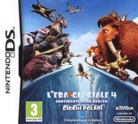 Copertina del gioco L'Era Glaciale 4: Continenti alla Deriva - Giochi Polari per Nintendo DS