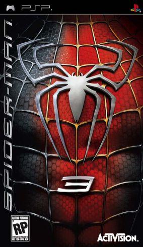 Immagine della copertina del gioco Spider-Man 3 per Playstation PSP