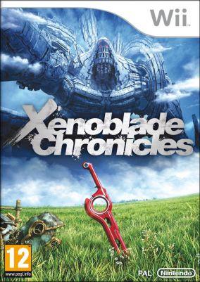 Copertina del gioco Xenoblade Chronicles per Nintendo Wii