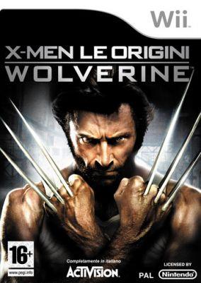 Copertina del gioco X-Men - Le Origini: Wolverine per Nintendo Wii