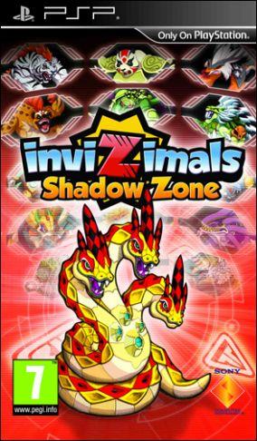 Copertina del gioco Invizimals Le Creature Ombra per Playstation PSP