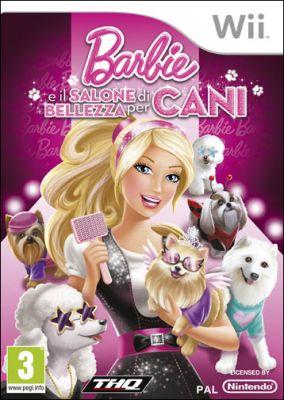 Copertina del gioco Barbie e il Salone di Bellezza per Cani per Nintendo Wii