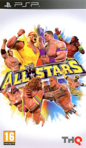 Copertina del gioco WWE All Stars per Playstation PSP