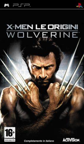 Copertina del gioco X-Men - Le Origini: Wolverine per Playstation PSP