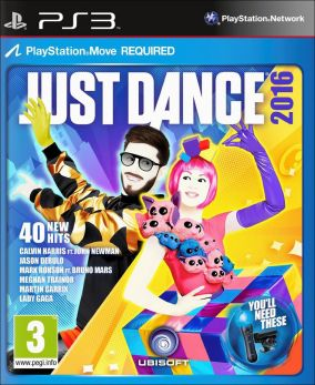 Copertina del gioco Just Dance 2016 per Playstation 3