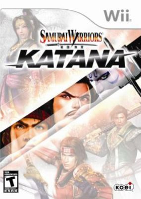 Copertina del gioco Samurai Warriors: Katana per Nintendo Wii