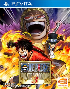 Copertina del gioco One Piece: Pirate Warriors 3 per PSVITA