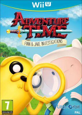Copertina del gioco Adventure Time: Finn e Jake detective per Nintendo Wii U