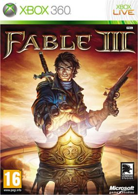 Copertina del gioco Fable III per Xbox 360
