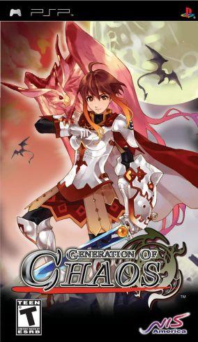 Copertina del gioco Generation of Chaos per Playstation PSP