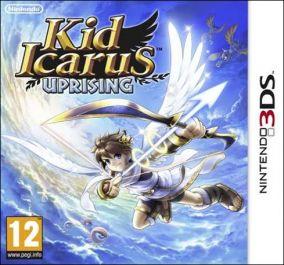 Copertina del gioco Kid Icarus Uprising per Nintendo 3DS