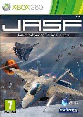 Copertina del gioco Jane's Advanced Strike Fighters per Xbox 360