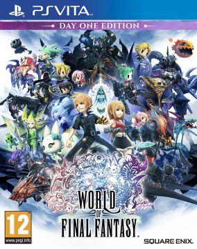 Copertina del gioco World of Final Fantasy per PSVITA