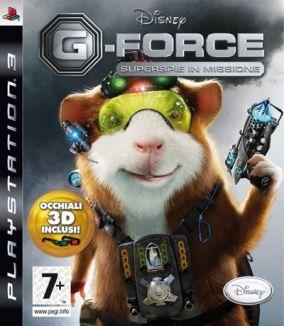 Copertina del gioco G-Force per Playstation 3