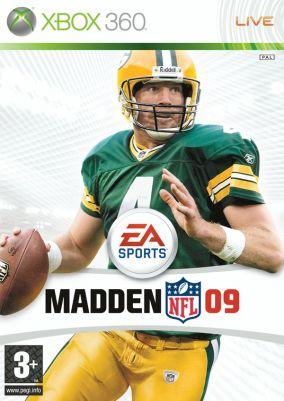 Copertina del gioco Madden NFL 09 per Xbox 360