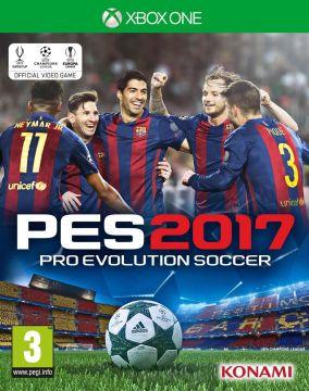 Copertina del gioco Pro Evolution Soccer 2017 per Xbox One