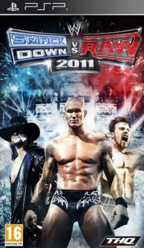 Copertina del gioco WWE Smackdown vs. RAW 2011 per Playstation PSP