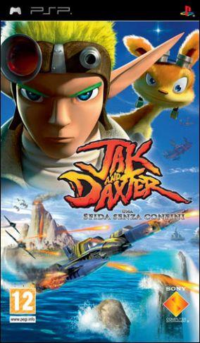 Copertina del gioco Jak & Daxter: Sfida Senza Confini per Playstation PSP
