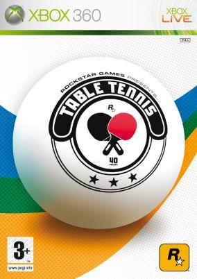 Copertina del gioco Table tennis per Xbox 360