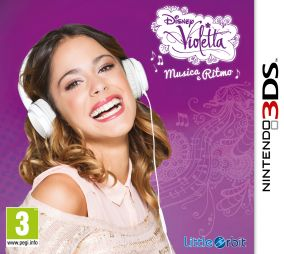 Copertina del gioco Violetta: Musica e Ritmo per Nintendo 3DS
