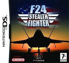 Copertina del gioco F-24 Stealth Fighter per Nintendo DS