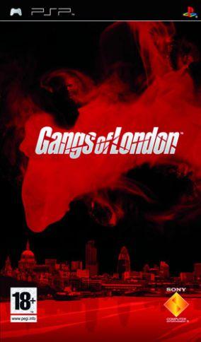 Copertina del gioco Gangs of London per Playstation PSP
