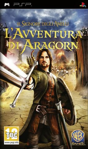 Copertina del gioco Il Signore degli Anelli: L'Avventura di Aragorn per Playstation PSP