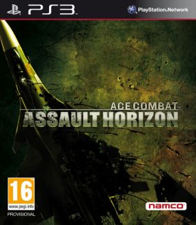 Copertina del gioco Ace Combat: Assault Horizon per Playstation 3
