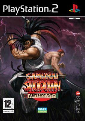 Copertina del gioco Samurai Shodown Anthology per Playstation 2