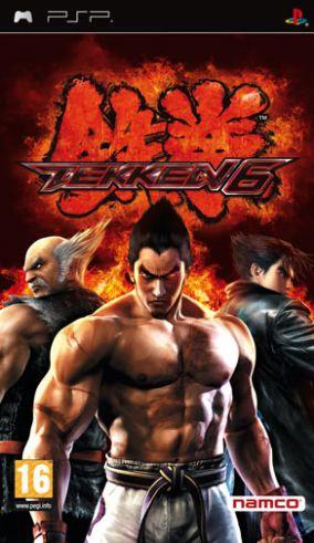 Copertina del gioco Tekken 6 per Playstation PSP