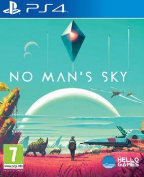 Copertina del gioco No Man's Sky per Playstation 4