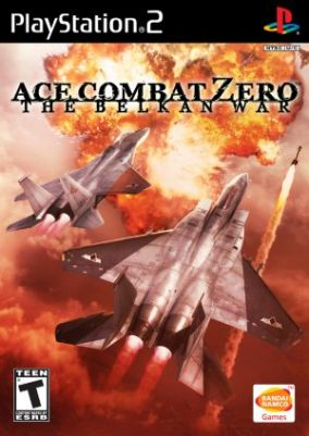 Copertina del gioco Ace Combat Zero: The Belkan War per Playstation 2