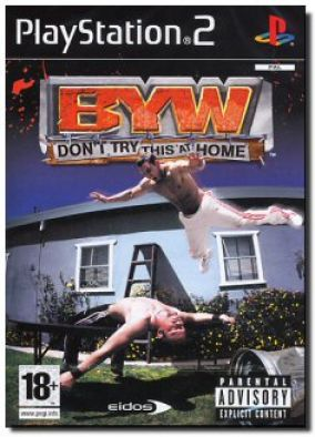 Copertina del gioco Backyard Wrestling: Don't Try This at Home  per Playstation 2