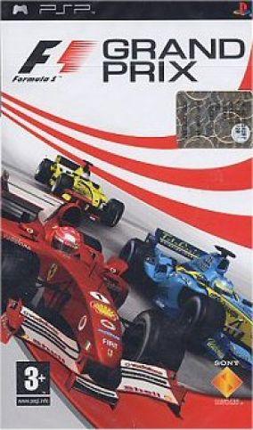 Copertina del gioco F1 Grand Prix per Playstation PSP