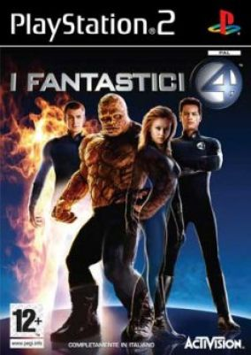 Copertina del gioco I Fantastici 4 per Playstation 2