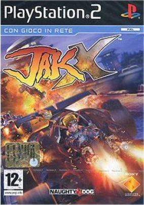 Copertina del gioco Jak X per Playstation 2