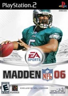Copertina del gioco Madden NFL 06 per Playstation 2