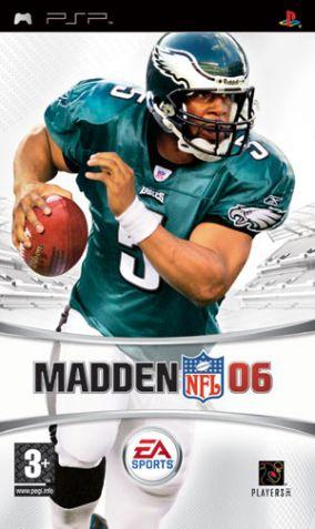 Copertina del gioco Madden NFL 06 per Playstation PSP