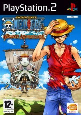 Copertina del gioco One Piece: Grand Adventure per Playstation 2