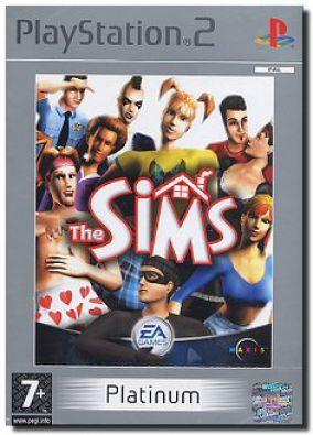 Immagine della copertina del gioco The Sims Platinum per Playstation 2