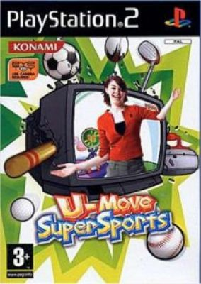 Copertina del gioco U-move Supersports per Playstation 2