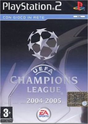 Copertina del gioco Uefa Champions League 2004-2005 per Playstation 2