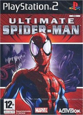 Copertina del gioco Ultimate Spider-man per Playstation 2